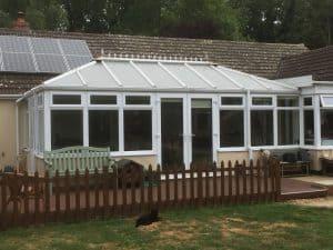 Large Double Hipped Edwardian Conservatory