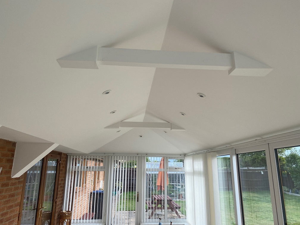 inside view of a Conservatory Roof Conversion in Ely, Cambridgeshire