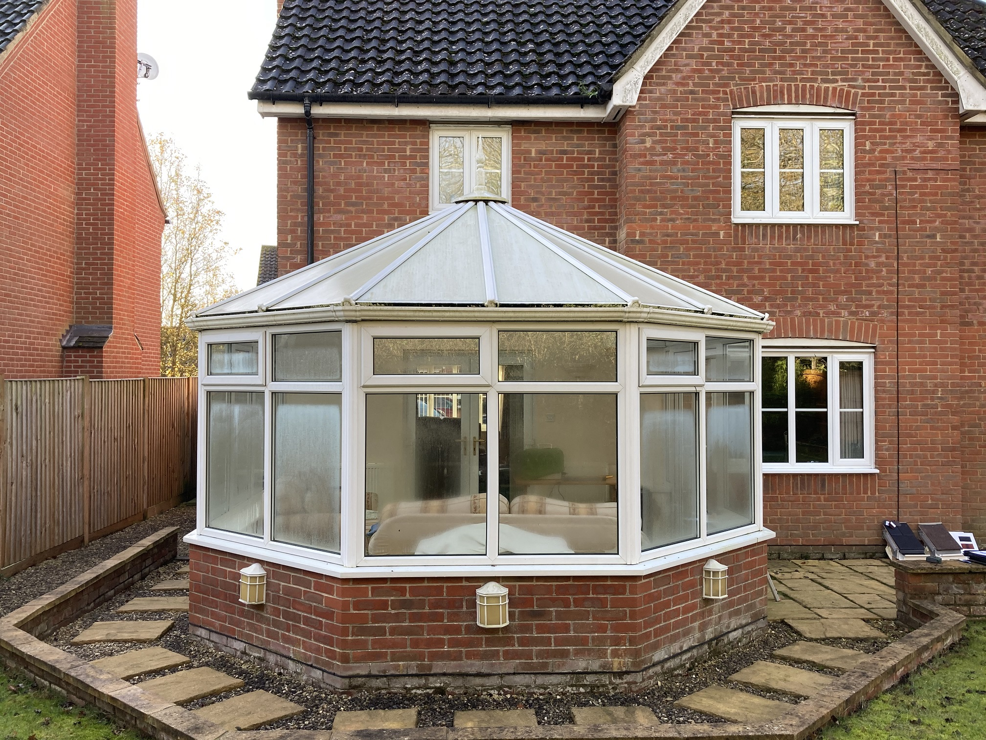 Conservatory in Norfolk before a Conservatory Roof Conversion