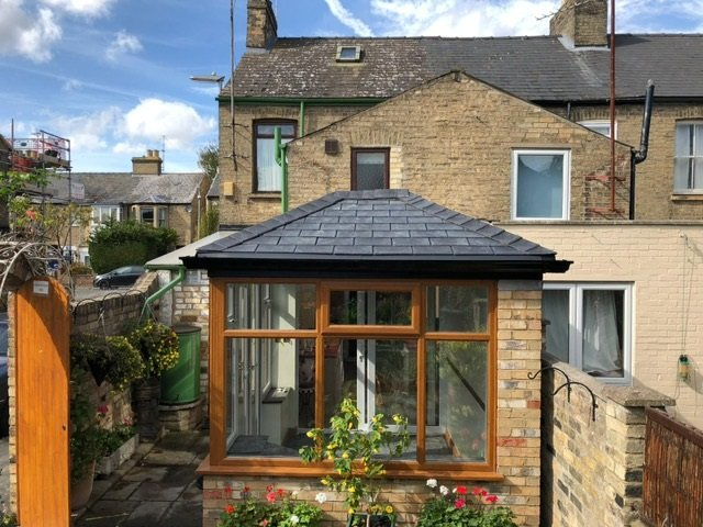 Conservatory after a Guardian Warm Roof Transformation