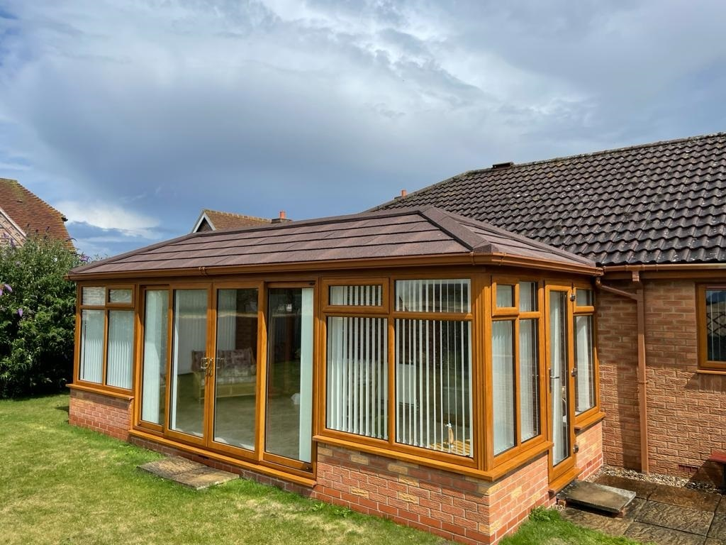 Outside view of a Conservatory Roof Conversion in Ely, Cambridgeshire
