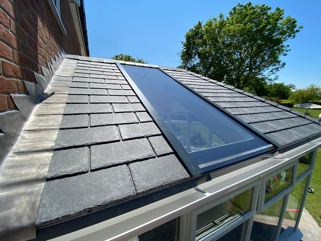 Conservatory in Suffolk before a Guardian Warm Roof Transformation