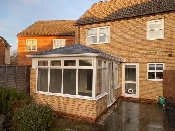 Conservatory transformation with a Guardian Warm Roof in Herts