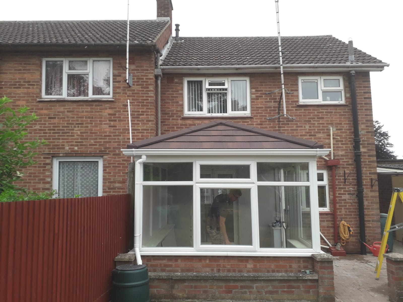 Conservatory Roof Conversion for Mr & Mrs Harris of Newmarket, Suffolk