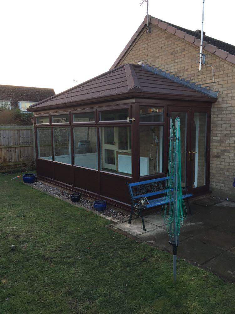 Conservatory Roof Conversion for Mrs Friend of Newmarket, Suffolk